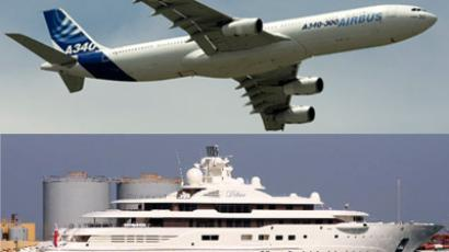 Tycoon Alisher Usmanov's expensive toys (Reuters/Benoit Tessier/www.yachtforums.com)