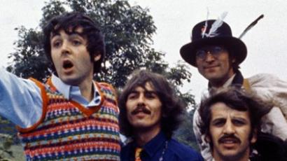 ­Unseen Beatles footage hits the web (Image from thespace.org)