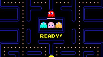 Screenshot from the game Pac-man