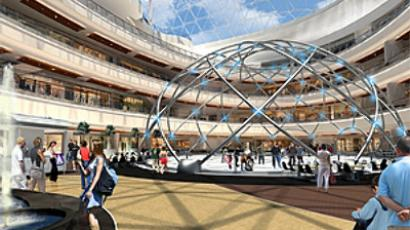 Artists Impression of the Mall of Russia