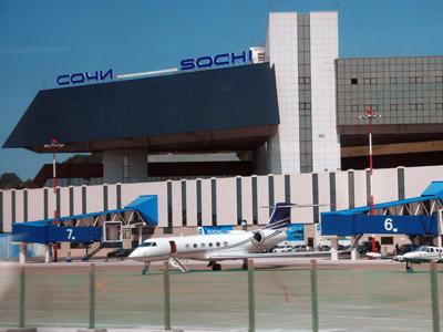 Sochi's airport. (RIA Novosti/Yury Pirogov)