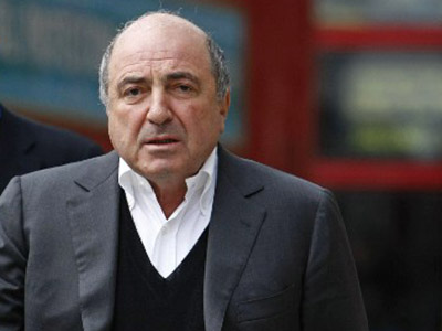 Russian oligarch Boris Berezovsky. (AFP Photo / Carl Court)