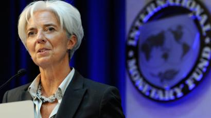 A Lagarde comme a lagarde: IMF head on defensive over Greece