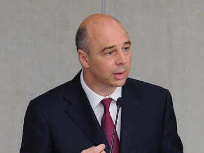 Russian Finance Minister Anton Siluanov (RIA Novosti/Vladimir Fedorenko)