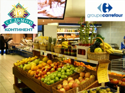 Carrefour makes offer on majority Sedmoi Kontinent stake
