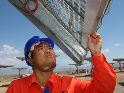 China starts anti-dumping probe into EU solar producers
