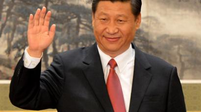 Chinese Vice president Xi Jinping (AFP Photo / Mark Ralston)