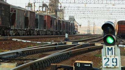 China cast production for Russian cargo wagons