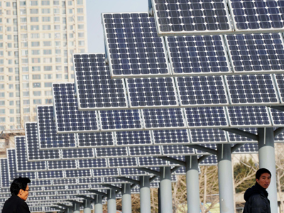 Solar panel war between US and China heats up