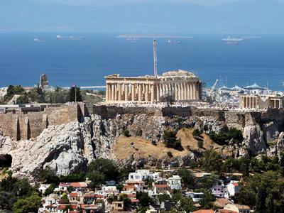 General view of Athens, Greece (AFP Photo / Louisa Gouiamaki)