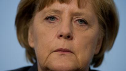 German Chancellor Angela Merkel (AFP Photo / Johannes Eisele)