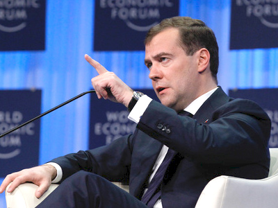 Presidential Davos address sets out Russian economic direction