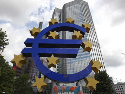 European Central Bank (ECB) (AFP Photo)