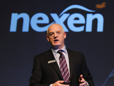 Kevin Reinhart interim president and CEO of Nexen (Reuters/Todd Korol)