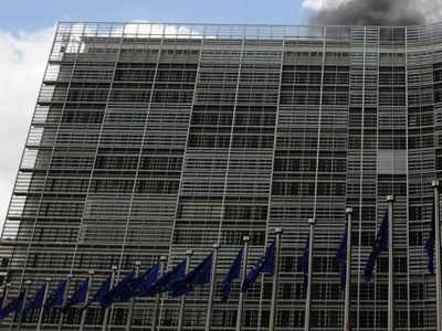 The European Commission building in Brussels (AFP Photo/John Thys)
