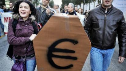 'Euro is a ticking timebomb for Greece'