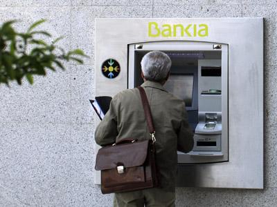 Euro woes hit Spanish Bankia