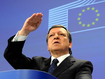 European Union Commission President Jose Manuel Barroso  (AFP Photo/Thierry Charlier)