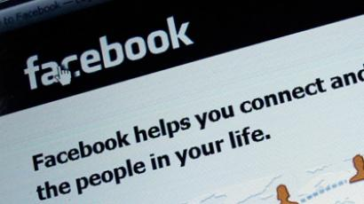 An illustration picture shows the log-on screen for the website Facebook (Reuters/Michael Dalder)
