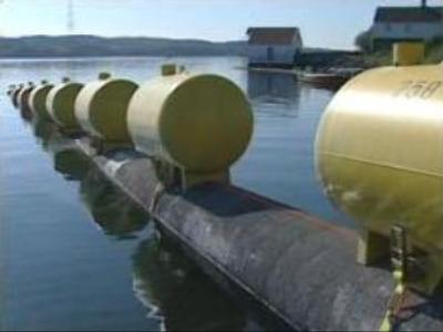 First gas pipeline to directly link Russia and Europe in 2010