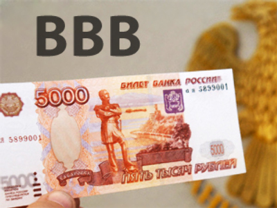 Fitch downgrades Russia to BBB with a negative outlook