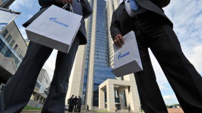 Gazprom OAO holds annual shareholders meeting (RIA Novosti / Artem Zhitenev)