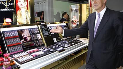 Cosmetics company L'Oreal chief executive Jean-Paul Agon. (Reuters / Charles Platiau)
