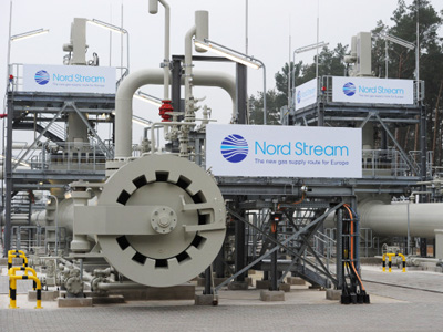 Nord Stream gas pipeline launched in Germany (RIA Novosti/Grigory Sysoev)
