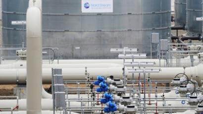 A section of the Nord Stream pipeline  (RIA Novosti / Grigory Sysoev)