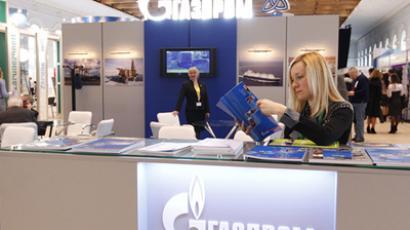 Gazprom (RIA Novosti / Ruslan Krivobok) Gazprom profit