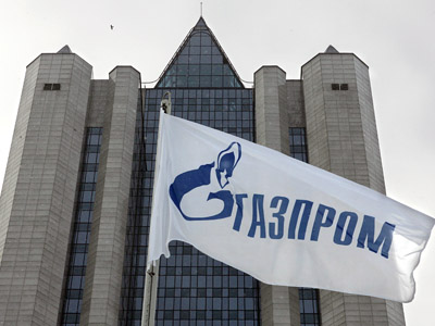 General view of the Russian natural gas monopoly gaint Gazprom headquarters (AFP Photo/Yuri Kadobnov)