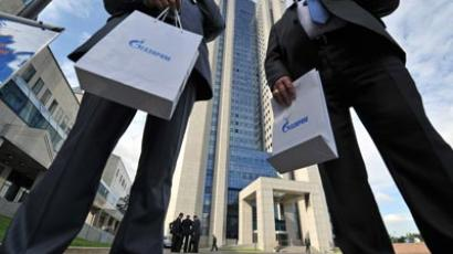 Gazprom OAO holds annual shareholders meeting (RIA Novosti/Artem Zhitenev)