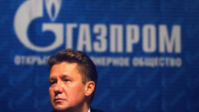 CEO of Russian gas giant Gazprom Alexei Miller. (AFP Photo / Alexander Nemenov)