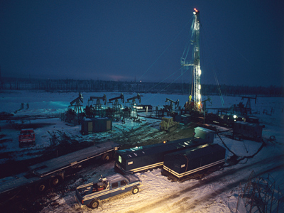 Gazprom joins shale oil race