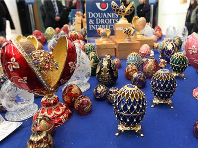 Gemstone mining buys Faberge business