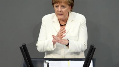 German Chancellor Angela Merkel (AFP Photo / Adam Berry)