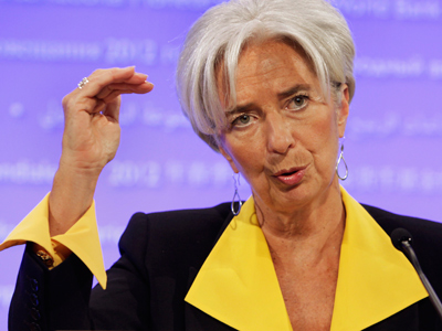 IMF Managing Director Christine Lagarde (Reuters / Yuri Gripas)
