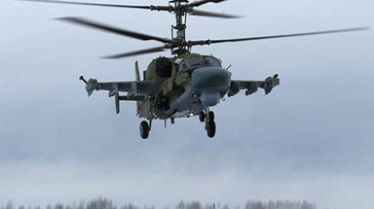Ka-52 multi-purpose helicopter flights (RIA Novosti / Alexey Kudenko)
