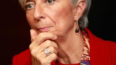 The head of the International Monetary Fund (IMF) Christine Lagarde (Reuters/Zoubeir Souissi)