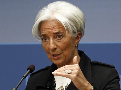 International Monetary Fund Managing Director Christine Lagarde (Reuters / Kevin Lamarque)