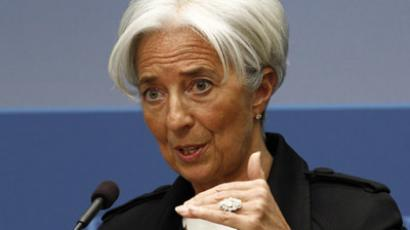 International Monetary Fund Managing Director Christine Lagarde (Reuters / Kevin Lamarque)