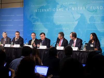 IMF does not expect Russian GDP to drop