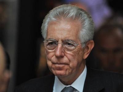 Italian Prime Minister Mario Monti (AFP Photo/Georges Gobet)