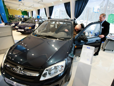 Lada Granta goes on sale (RIA Novosti / Anton Denisov)