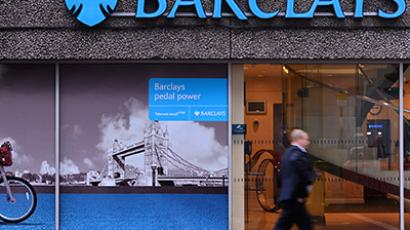 United Kingdom, London : A man walks past a branch of Barclays bank in central London, on July 3, 2012.(AFP Photo / Carl Court)