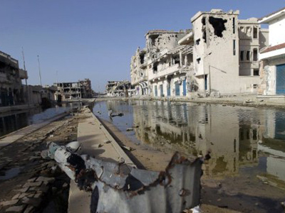 A year of conflicts in Libya cost its economy more than $40 bn