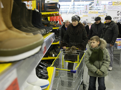 Bank loans fuel Russian spending growth