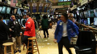 Traders work on the floor of the New York Stock Exchange on July 6, 2012 in New York City (Spencer Platt/Getty Images/AFP)