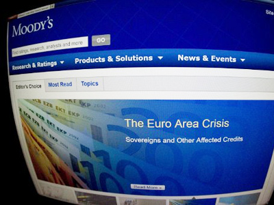 Moody's cuts ratings of 16 Spanish banks