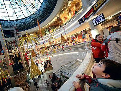 Foreign retailers flock to Moscow